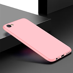 Coque Ultra Fine Silicone Souple Housse Etui S01 pour Oppo A3 Or Rose