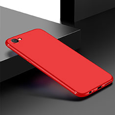 Coque Ultra Fine Silicone Souple Housse Etui S01 pour Oppo A3 Rouge