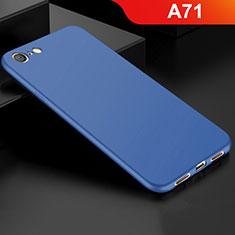 Coque Ultra Fine Silicone Souple Housse Etui S01 pour Oppo A71 Bleu