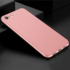 Coque Ultra Fine Silicone Souple Housse Etui S01 pour Oppo A71 Or Rose