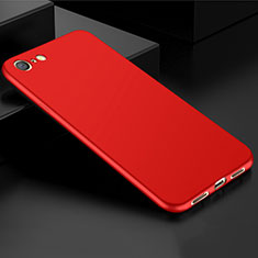 Coque Ultra Fine Silicone Souple Housse Etui S01 pour Oppo A71 Rouge