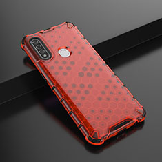 Coque Ultra Fine Silicone Souple Housse Etui S01 pour Oppo A8 Rouge