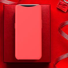 Coque Ultra Fine Silicone Souple Housse Etui S01 pour Oppo Find X Super Flash Edition Rouge