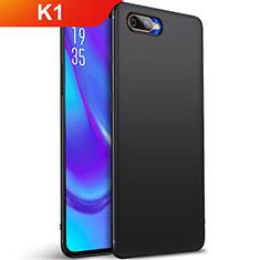 Coque Ultra Fine Silicone Souple Housse Etui S01 pour Oppo K1 Noir