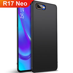 Coque Ultra Fine Silicone Souple Housse Etui S01 pour Oppo R17 Neo Noir