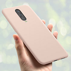 Coque Ultra Fine Silicone Souple Housse Etui S01 pour Oppo R17 Pro Or Rose