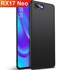 Coque Ultra Fine Silicone Souple Housse Etui S01 pour Oppo RX17 Neo Noir