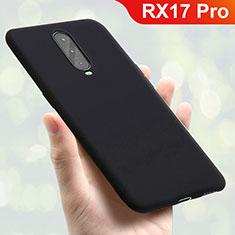 Coque Ultra Fine Silicone Souple Housse Etui S01 pour Oppo RX17 Pro Noir