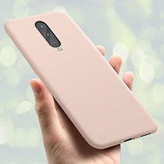 Coque Ultra Fine Silicone Souple Housse Etui S01 pour Oppo RX17 Pro Or Rose