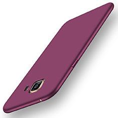 Coque Ultra Fine Silicone Souple Housse Etui S01 pour Samsung Galaxy A5 (2016) SM-A510F Violet