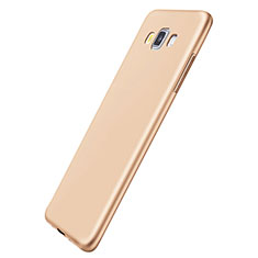Coque Ultra Fine Silicone Souple Housse Etui S01 pour Samsung Galaxy A5 Duos SM-500F Or