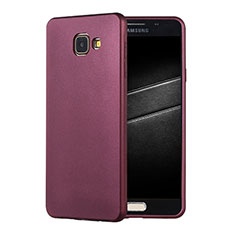 Coque Ultra Fine Silicone Souple Housse Etui S01 pour Samsung Galaxy A7 (2016) A7100 Violet