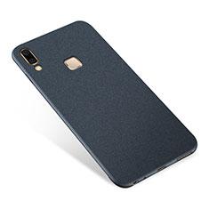 Coque Ultra Fine Silicone Souple Housse Etui S01 pour Samsung Galaxy A8 Star Bleu