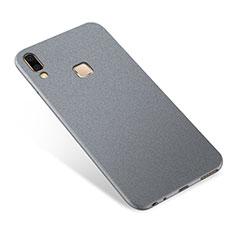 Coque Ultra Fine Silicone Souple Housse Etui S01 pour Samsung Galaxy A8 Star Gris