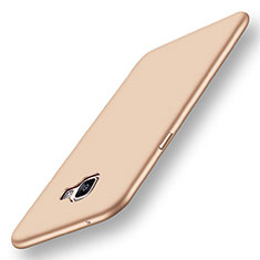Coque Ultra Fine Silicone Souple Housse Etui S01 pour Samsung Galaxy A9 Pro (2016) SM-A9100 Or