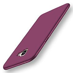 Coque Ultra Fine Silicone Souple Housse Etui S01 pour Samsung Galaxy A9 Pro (2016) SM-A9100 Violet