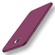 Coque Ultra Fine Silicone Souple Housse Etui S01 pour Samsung Galaxy C5 Pro C5010 Violet