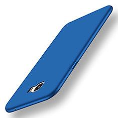 Coque Ultra Fine Silicone Souple Housse Etui S01 pour Samsung Galaxy C7 Pro C7010 Bleu