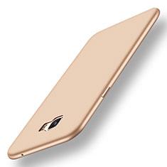 Coque Ultra Fine Silicone Souple Housse Etui S01 pour Samsung Galaxy C7 Pro C7010 Or