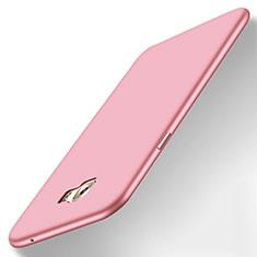 Coque Ultra Fine Silicone Souple Housse Etui S01 pour Samsung Galaxy C7 Pro C7010 Rose