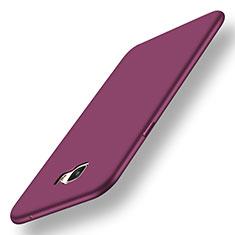 Coque Ultra Fine Silicone Souple Housse Etui S01 pour Samsung Galaxy C7 Pro C7010 Violet