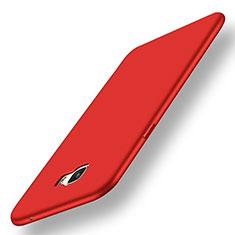 Coque Ultra Fine Silicone Souple Housse Etui S01 pour Samsung Galaxy C7 SM-C7000 Rouge