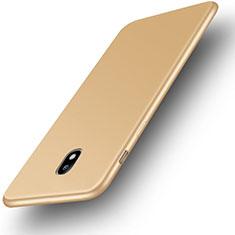 Coque Ultra Fine Silicone Souple Housse Etui S01 pour Samsung Galaxy J3 (2017) J330F DS Or