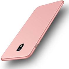 Coque Ultra Fine Silicone Souple Housse Etui S01 pour Samsung Galaxy J3 Pro (2017) Rose