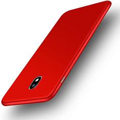 Coque Ultra Fine Silicone Souple Housse Etui S01 pour Samsung Galaxy J3 Pro (2017) Rouge