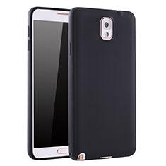 Coque Ultra Fine Silicone Souple Housse Etui S01 pour Samsung Galaxy Note 3 N9000 Noir