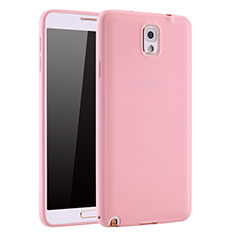 Coque Ultra Fine Silicone Souple Housse Etui S01 pour Samsung Galaxy Note 3 N9000 Rose