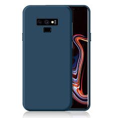 Coque Ultra Fine Silicone Souple Housse Etui S01 pour Samsung Galaxy Note 9 Bleu