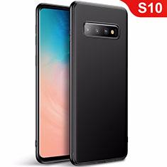 Coque Ultra Fine Silicone Souple Housse Etui S01 pour Samsung Galaxy S10 Noir