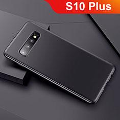 Coque Ultra Fine Silicone Souple Housse Etui S01 pour Samsung Galaxy S10 Plus Noir