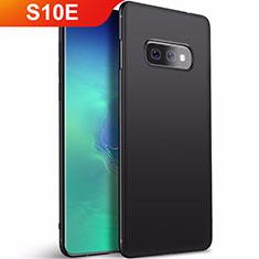 Coque Ultra Fine Silicone Souple Housse Etui S01 pour Samsung Galaxy S10e Noir