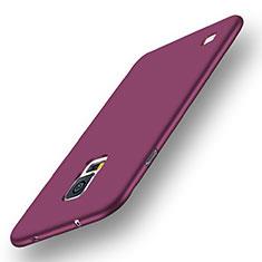 Coque Ultra Fine Silicone Souple Housse Etui S01 pour Samsung Galaxy S5 G900F G903F Violet