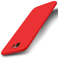 Coque Ultra Fine Silicone Souple Housse Etui S01 pour Samsung Galaxy S6 Duos SM-G920F G9200 Rouge