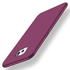 Coque Ultra Fine Silicone Souple Housse Etui S01 pour Samsung Galaxy S6 Edge+ Plus SM-G928F Violet