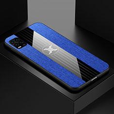 Coque Ultra Fine Silicone Souple Housse Etui S01 pour Xiaomi Mi 10 Lite Bleu
