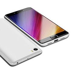 Coque Ultra Fine Silicone Souple Housse Etui S01 pour Xiaomi Mi 5 Blanc