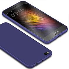 Coque Ultra Fine Silicone Souple Housse Etui S01 pour Xiaomi Mi 5C Bleu