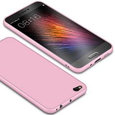 Coque Ultra Fine Silicone Souple Housse Etui S01 pour Xiaomi Mi 5C Rose