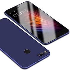 Coque Ultra Fine Silicone Souple Housse Etui S01 pour Xiaomi Mi 5X Bleu