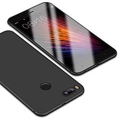 Coque Ultra Fine Silicone Souple Housse Etui S01 pour Xiaomi Mi 5X Noir