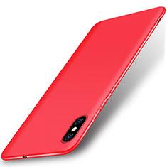 Coque Ultra Fine Silicone Souple Housse Etui S01 pour Xiaomi Mi 8 Explorer Rouge