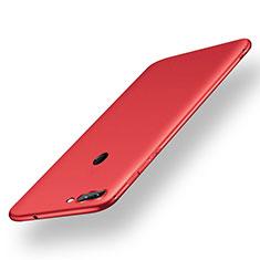 Coque Ultra Fine Silicone Souple Housse Etui S01 pour Xiaomi Mi 8 Lite Rouge