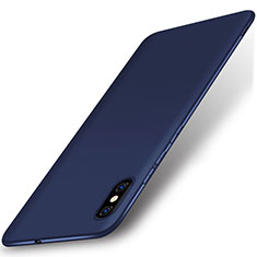 Coque Ultra Fine Silicone Souple Housse Etui S01 pour Xiaomi Mi 8 Pro Global Version Bleu