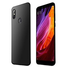 Coque Ultra Fine Silicone Souple Housse Etui S01 pour Xiaomi Mi Max 3 Noir