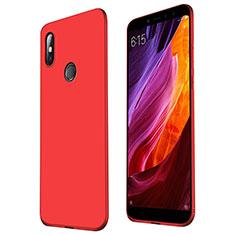 Coque Ultra Fine Silicone Souple Housse Etui S01 pour Xiaomi Mi Max 3 Rouge