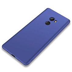 Coque Ultra Fine Silicone Souple Housse Etui S01 pour Xiaomi Mi Mix 2 Bleu